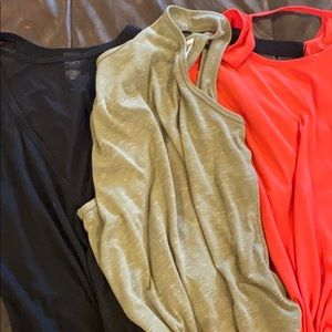 3 workout tanks from Victoria Secret.